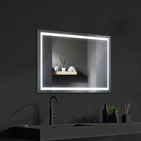 LED OGLEDALO 667589 VANILIA 80 x 60 cm