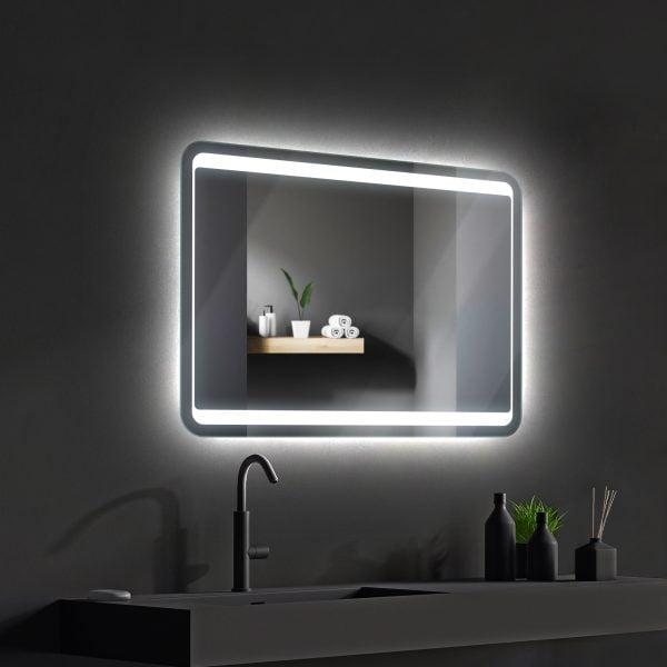 LED OGLEDALO 667590 GRACIA 80 x 60 cm