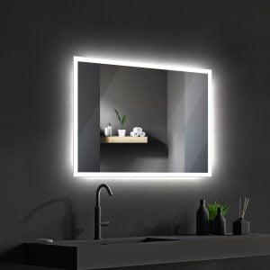 LED OGLEDALO 667988 VENUS 80 x 60 cm