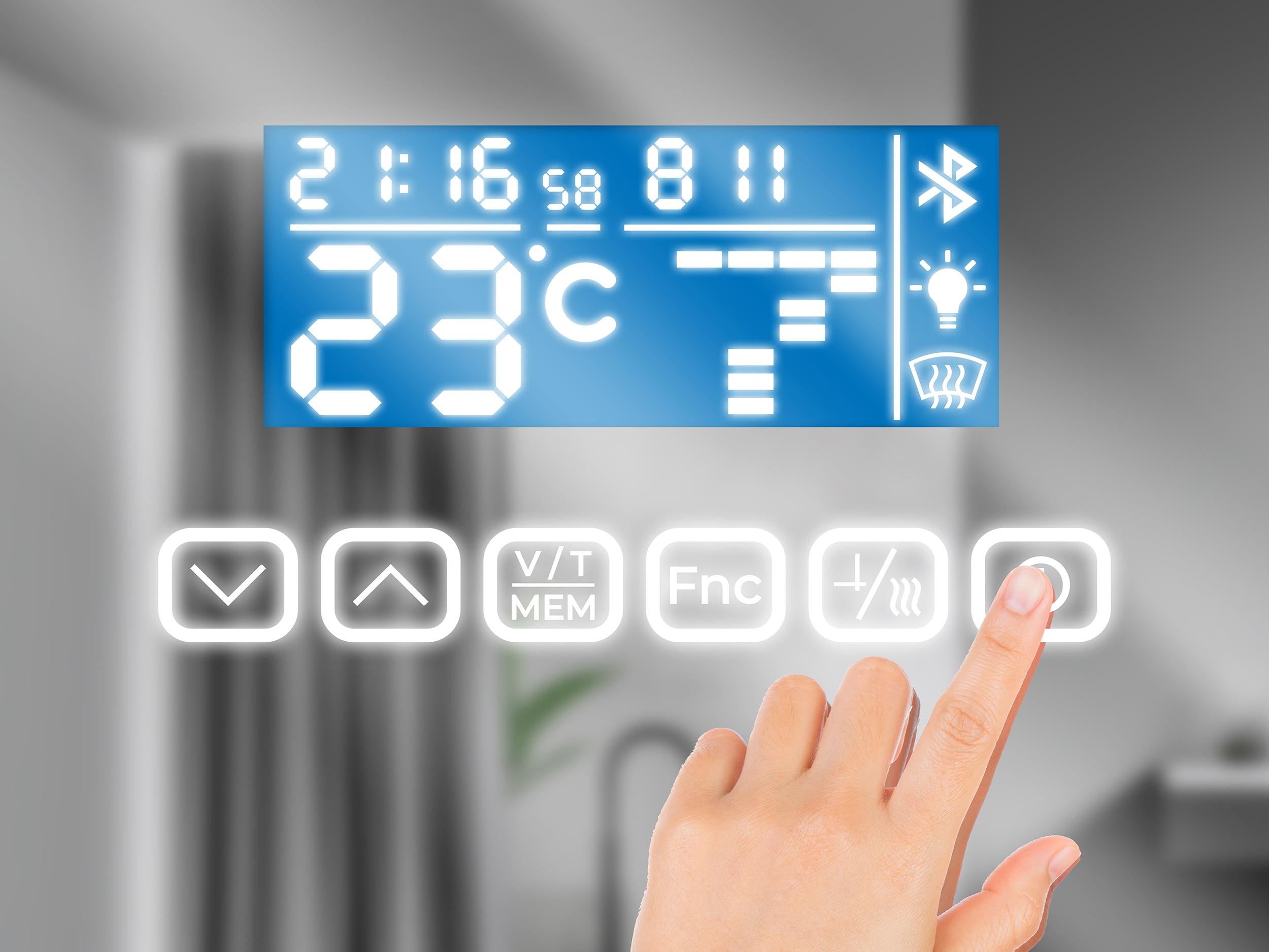 LED Bluetooth Panel