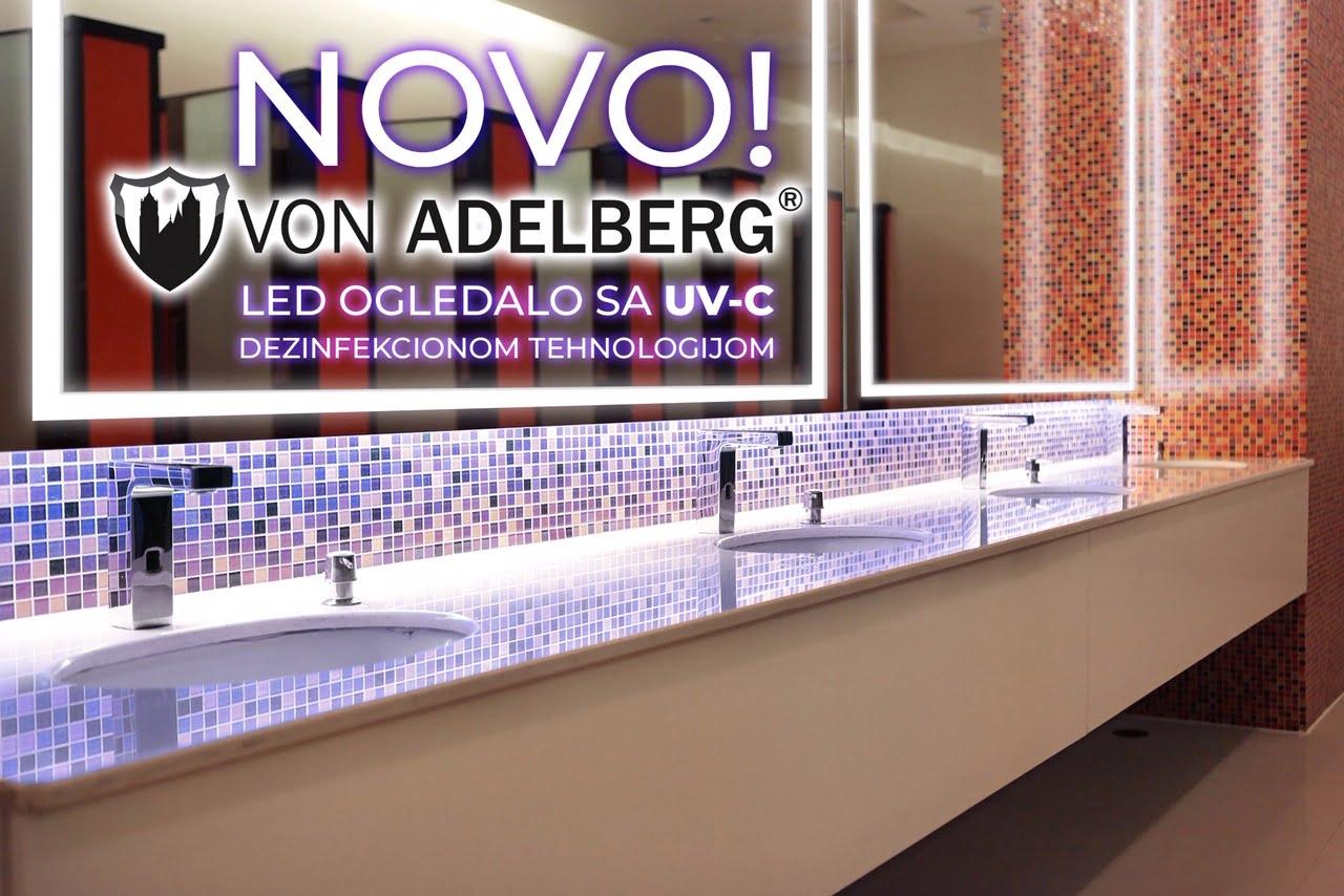 LED ogledala sa UV-C dezinfekcionom tehnologijom