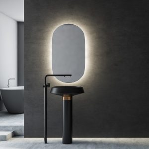 LED OGLEDALO 667591 ECLIPSA