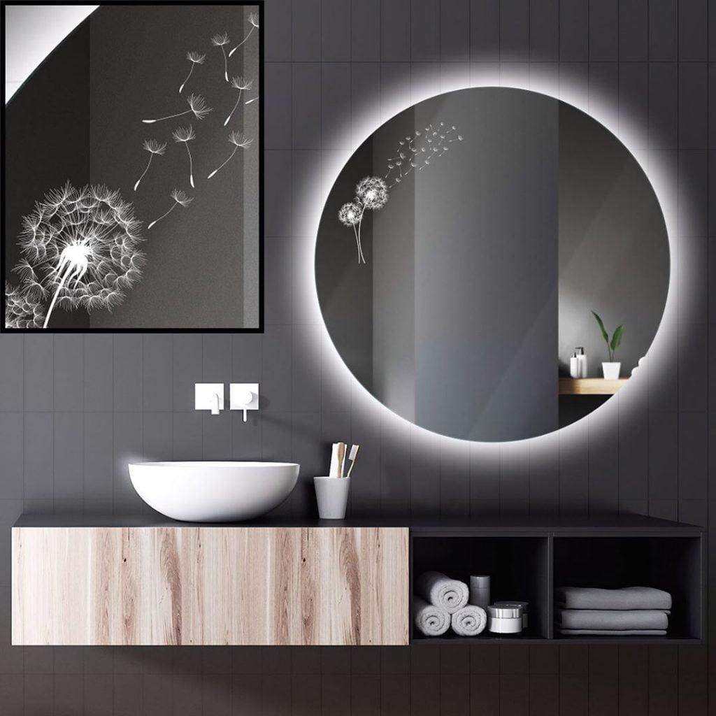 Nova tehnologija izrade motiva na LED ogledalima