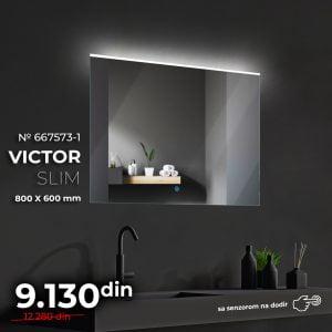 LED OGLEDALO 667573-S VIKTOR SLIM
