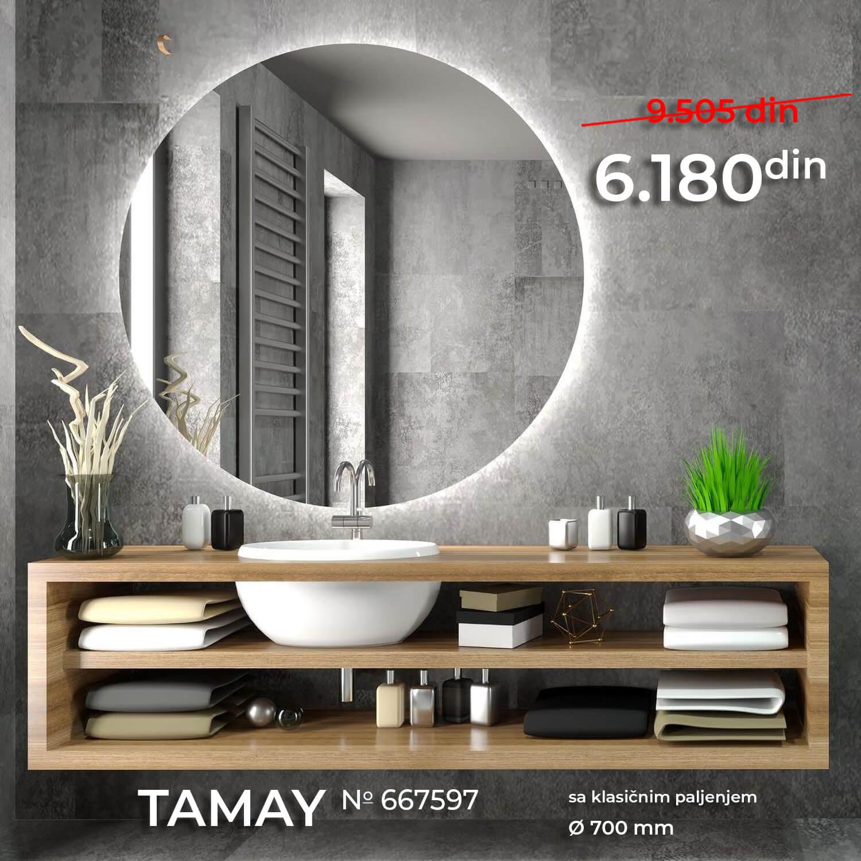 LED OGLEDALO 667597 TAMAY