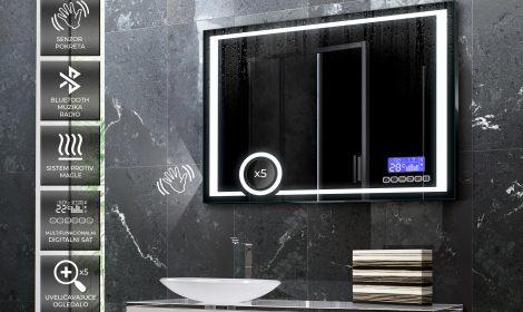 Ogledalo sa LED Bluetooth Panel-om